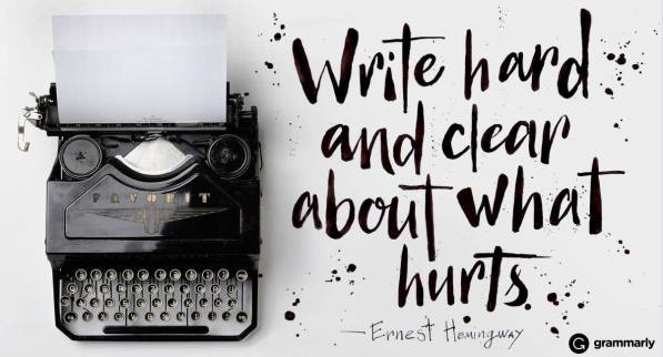 write-what-hurts